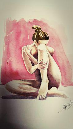 NudeSeries WatercolorSeries @dabhisek570