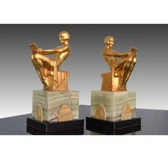 Max Le Verrier bookends