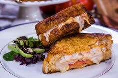 Former military white house chefs Colorado turkey melt. Must try! Looks so yummy!!