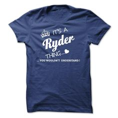 (Low cost) Its A RYDER Thing - Buy Now...