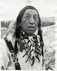 Ben Black Elk (Oglala) by Paul B. Steinmetz, Pine Ridge Indian Reservation, South Dakota, 1971 by Marquette University Archives
