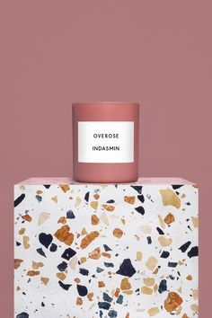 Just in time for the holidays: chic nontoxic candles from Overose, a new Parisian candle brand, made from sustainable, hand-tinted rose rapeseed wax.