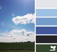 Blue Sky Hues - http://design-seeds.com/index.php/home/entry/blue-sky-hues2