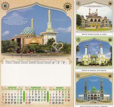 Kalender 2016 - Masjid Indonesia 3