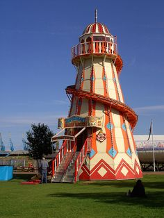Helter Skelter by David van Mill Circus Aesthetic, Abandoned Theme Parks, Beach Boardwalk, Scary Clowns, Fun Fair, Carousel Horses, Bright Lights, Amusement Park, Roller Coaster