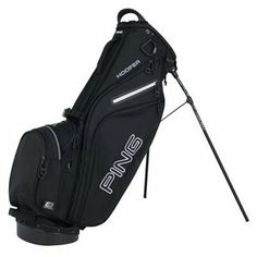 Ping 4 Series Bag Black by Ping. $169.00. PING designers reconfigured the bag top on the 4 Series, creating more room for clubs. The bag top was made stiffer, with an integrated handle, plus a reinforced bracket with a leg stop to keep the legs from splaying. At around 4 pounds, the 4 Series is well-accessorized with six pockets, including a velour-lined valuables pocket. New dual sliding, adjustable straps make the bag easy to take on and off, and to carry it...