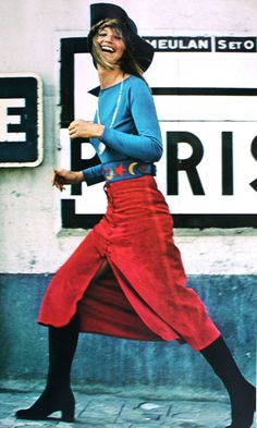 Vogue Paris October 1970, photo Jean-Jacques Bugat