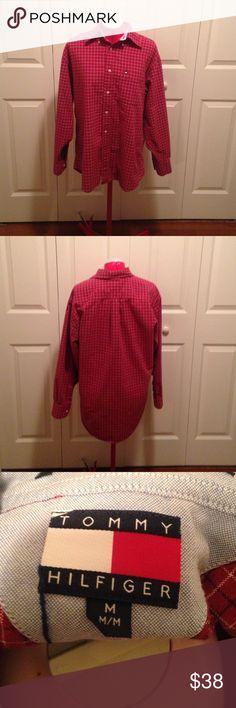 Tommy Hilfiger Flannel Vintage Tommy Hilfiger Tops Button Down Shirts