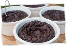 Chocolate Fudge Cake in a Mug - and it's actually good for you!