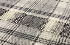 "Shetland Quality Pure Wool Huntingtower Grey Throw 140x185cms - Wool Tartan Throws 140x180 cms - Shop By Size Sofa Throws. ""Repinned by Keva xo""."
