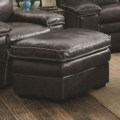 Regal Vale Ottoman | Coaster | Home Gallery Stores