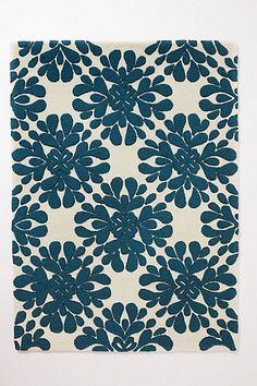 Coqo Floral Rug #anthropologie #anthrofave