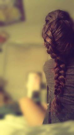 tumblr hair dutch braid french braid
