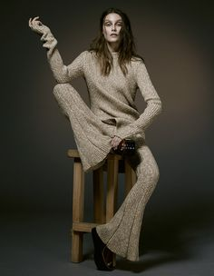 visual optimism; fashion editorials, shows, campaigns & more!: charlotte wiggins by damian foxe for how to spend it 4th december 2014