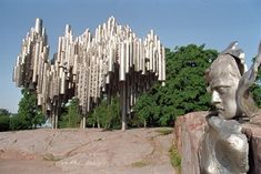 Eila Hiltunen: Sibelius Monument 'Passio Musicae', You may not use this photo for commercial purposes. Turku Finland, Alaska, United Nations Headquarters, Cruise Port, Capital City, Helsinki, Time Travel, Beautiful Landscapes, Art Museum
