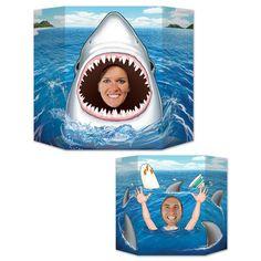 The Beistle Company Shark Photo Prop