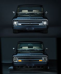 Vintage Trucks Muscle Chevy Retro Truck 100 Anniversary on Behance - Chevy C10, 67 72 Chevy Truck, Chevy Pickups, Chevrolet Impala, C10 Trucks, Chevy Pickup Trucks, Chevrolet Trucks, Lifted Trucks, Tonka Trucks