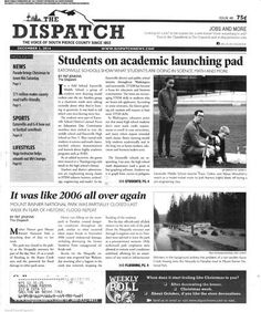 The Dispatch (Eatonville, Washington) newspaper archive is at http://evd.stparchive.com/