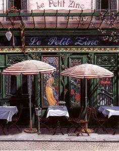 Saint Germain des Prés Quarter, Le Petit Zinc, restaurant, 11 Rue St Benoît…