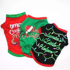 Wholesale Pet & Gargen Dog Supplies Dog Clothing Dog Christmas T-shirt Vest from Our Website with high quality and fast shipping worldwide. T Shirt Vest, Dog Shirt, Dress Vest, Christmas Animals, Christmas Dog, Christmas Gifts, Papua Nova Guiné, Trinidad E Tobago, Snowman Costume