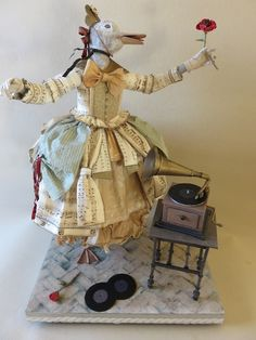 Fanny Schurman...paper sculpture by Patty Grazzini