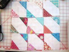 scrappy quilt blocks | Sleepy Owl Studio