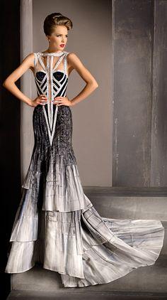 Blanka Matragi 2012 Haute Couture Spring Summer Evening Gowns Collection  #hautecouture #blankamatragi