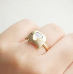 Elephant own adjustable ring