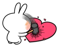 A lot of affection of Spoiled Rabbit.