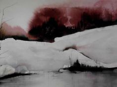 I just have found this new name for me on Facebook! Great works! The essence of watercolor!