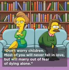 """In Memory of Marcia Wallace / The 8 Sassiest Quotes From """"The Simpsons""""' Edna Krabappel (via BuzzFeed)"""