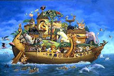 Hala Wittwer  - What a happy, playful Noah's Ark!