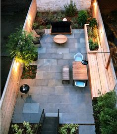 Great use of out door space in inner city homes