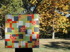 Oxford Comma Quilt Finish