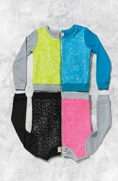Sparkle! Little Sequin Sweatshirts