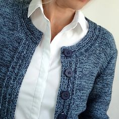 Ravelry: Chanel Blues pattern by Hinterm Stein