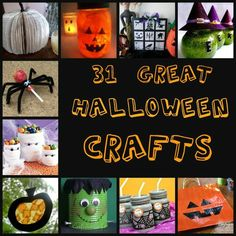 It's never too early to get spooktacular with your kids! Enjoy these great 31#Halloween Crafts and have a blast with the kids
