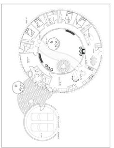My favorite floor plan from Monolithic domes includes an internal garden space...