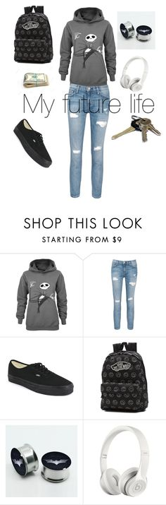 """""""Untitled #1"""" by julig14 ❤ liked on Polyvore featuring interior, interiors, interior design, home, home decor, interior decorating, Current/Elliott, Vans, Beats by Dr. Dre and Avon"""