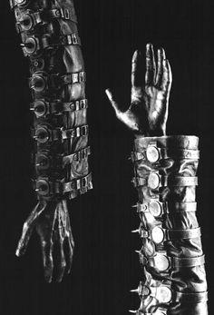 H.R.Giger Winter Crosswatch,   1993, cast aluminium,   64*20*14 cm