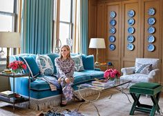 Tory Burch Manhattan Office Sitting Area