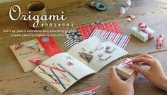 Origami-Origami Roll it up, paste it somewhere, wrap something up with it. Origami papers to brighten up your every day!