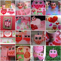 Perfect ideas for the owl theme.