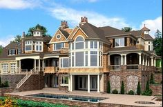 520 best House plans images on Pinterest in 2019 | Dream house plans Northfield Manor Frank Betz House Plan Html on