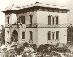 Ferrara Villa Melchiorri , Art Nouveau darling of Ferrrara, Italy. 1903 - 1904 Via Cavour Eng. Ciro Contini