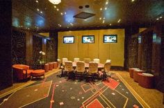 Phil Ivey's Room at the Aria in CityCenter Las Vegas.