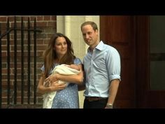 William and Kate's Royal Baby Makes World Debut