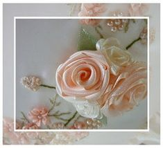 Lots of stitching tutorials - folded ribbon roses, silk ribbon embroidery, etc. by sharron.henry.5
