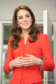 Catherine, Duchess of Cambridge attends the official opening of The Global Academy in support of Heads Together at The Global Academy on April 20, 2017 in Hayes, England.