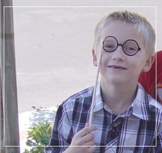 Harry Potter Birthday Party photo prop